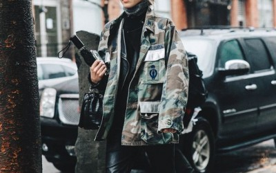 We salute 2016's biggest trend : Military Style